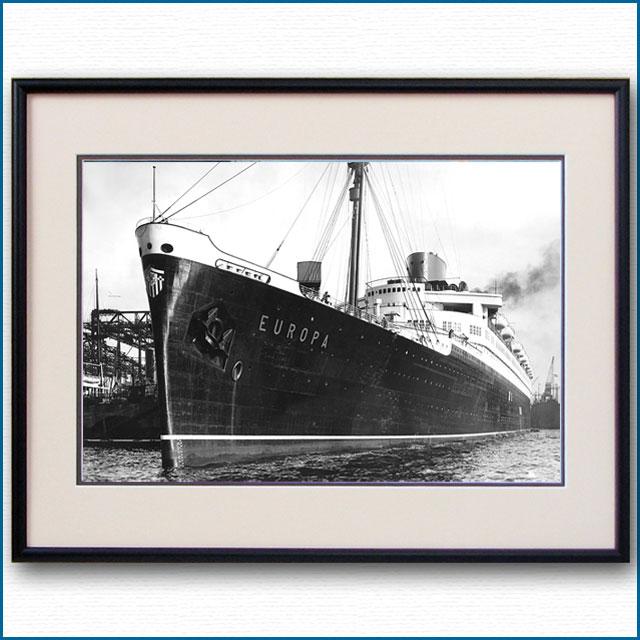 1930年 客船オイローパの写真 3296LL