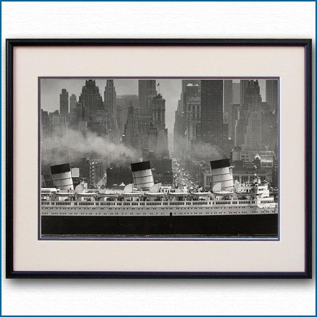 1959年 客船クイーンメリー・マンハッタンの写真 3297LL