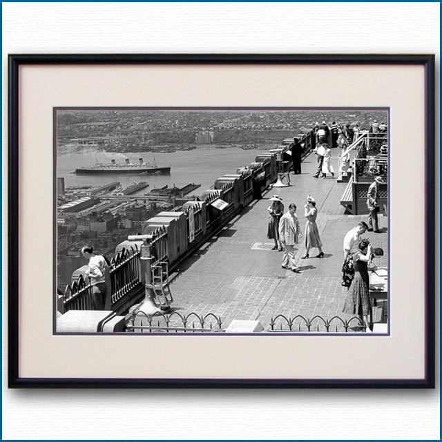 1939年 ハドソン川 トップ・オブ・ザ・ロックからの写真 3299LL