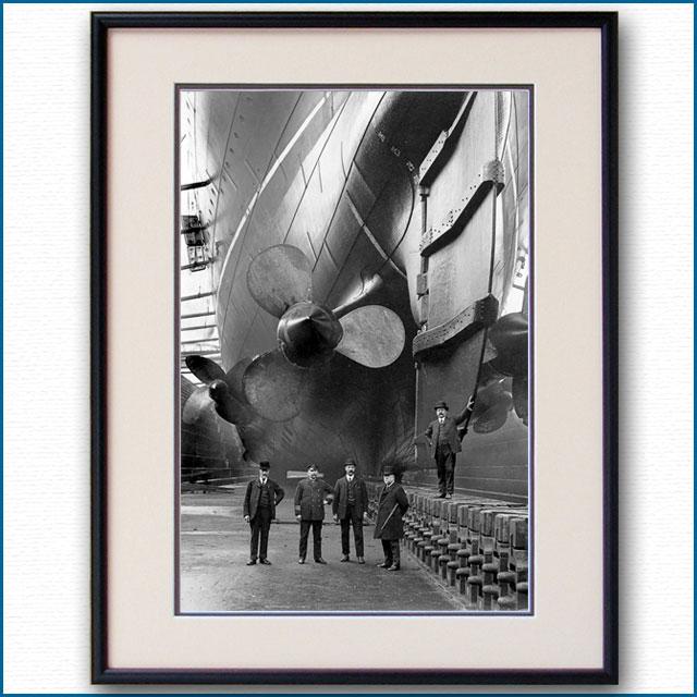 1907年 客船モーレタニア・プロペラの写真 3303LL