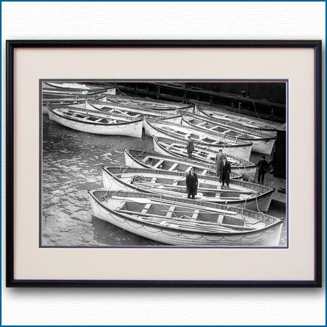 1912年 客船タイタニック・救命ボートの写真 3305LL