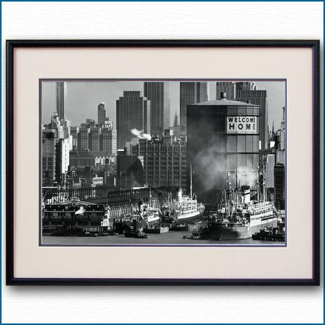 1947年 マンハッタンターミナル・燃料タンクの写真 3311LL