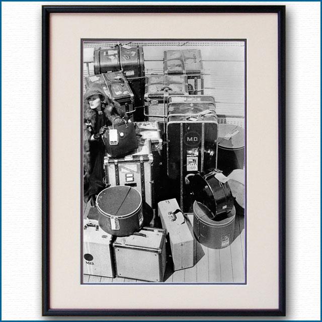 1936年 ノルマンディー船上 マレーネ・ディートリヒの写真 3313LL