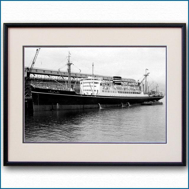 1953年 日本郵船・氷川丸 シアトル停泊の写真 3318LL