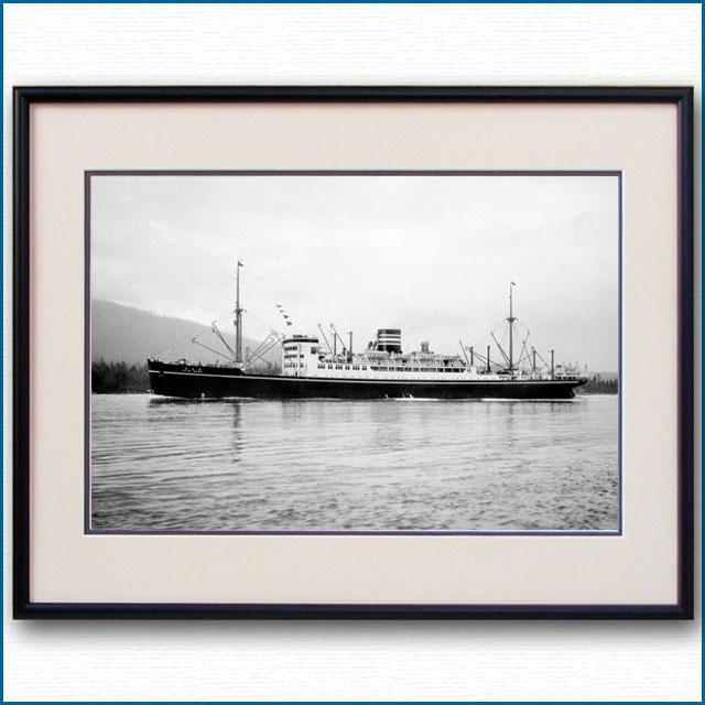 1930年代 日本郵船・日枝丸の写真 3319LL