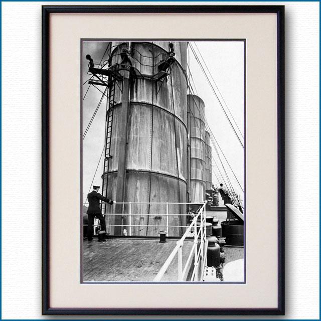 1910年頃 客船ルシタニア・ファンネルの写真 3321LL