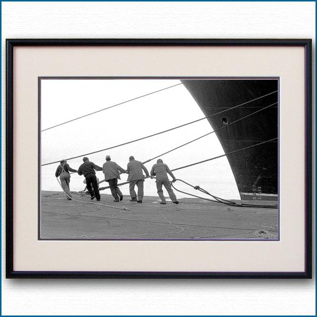 1996年 客船クイーンエリザベス2・サウザンプトンの写真 3327LL