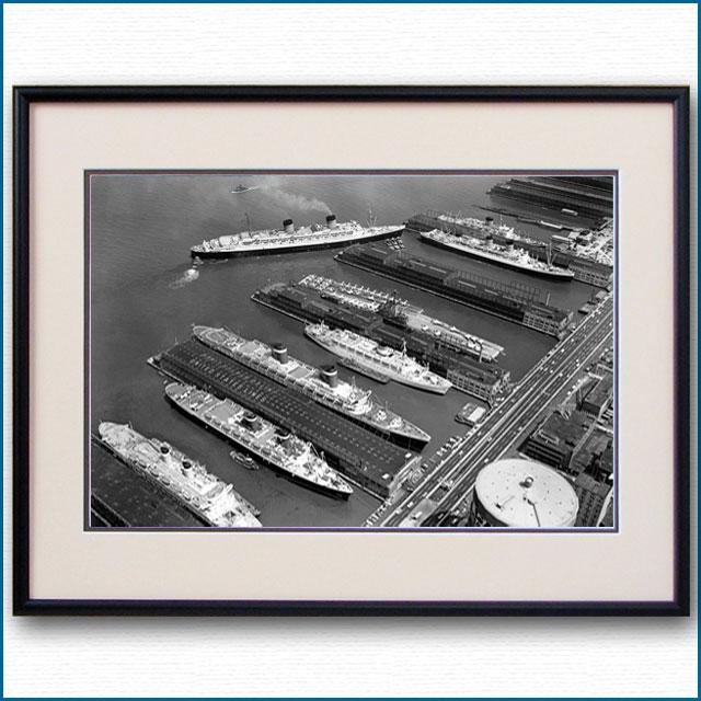 1960年 ニューヨーク客船ターミナルの写真 3331LL