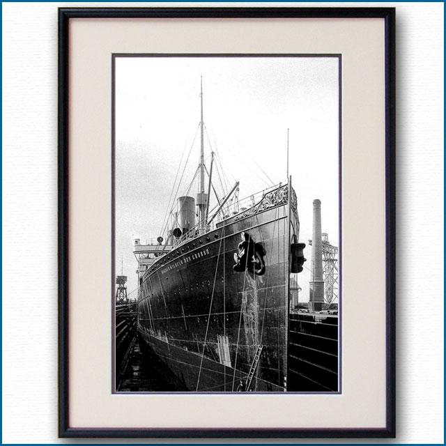 1897年 客船カイザー・ウィルヘルム・デア・クローゼの写真 3333LL