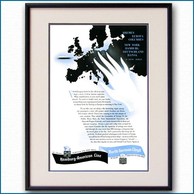 1937年 ハパグ・北ドイツロイド雑誌広告 3348LL