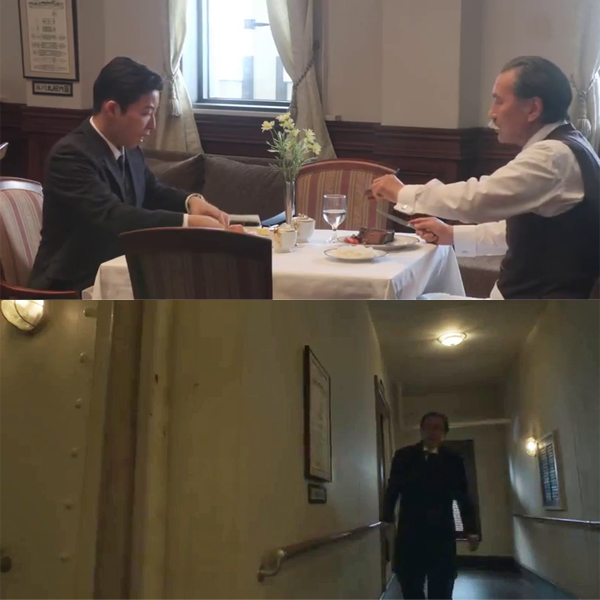 NHK大河ドラマ「いだてん」氷川丸船内シーン納入事例:ポスター販売・Ocean-Note